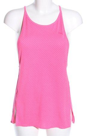 Puma Trägertop pink Motivdruck Casual-Look