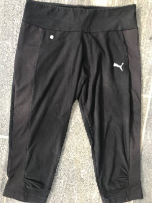Puma Pantalon de sport noir-blanc