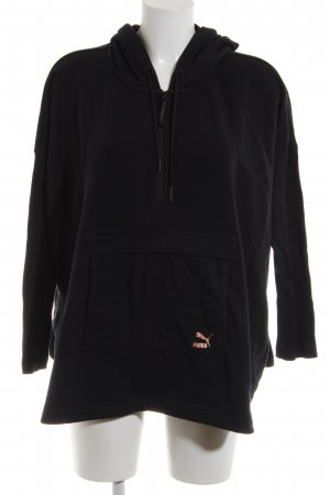 Puma Sailor Sweater black themed print casual look
