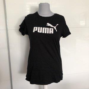 Puma Tshirt 40/42 Schwarz Weiß