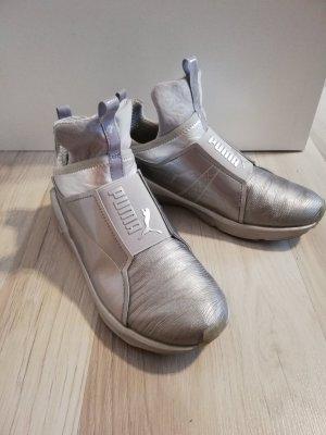 Puma Slip-on Sneakers silver-colored