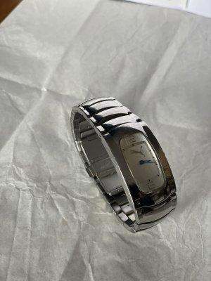 Puma Reloj con pulsera metálica color plata-blanco