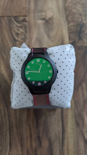 Puma Horquilla para reloj rosa claro-verde
