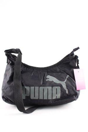 Puma Umhängetasche schwarz Motivdruck Casual-Look