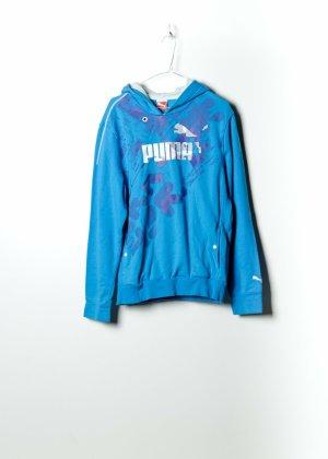 Puma Unisex Kapuzenpullover in Blau