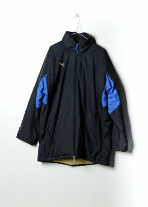 Puma Unisex Outdoor Jacke in Schwarz