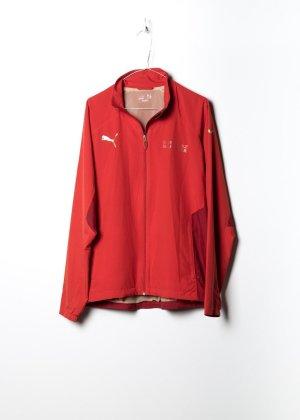 Puma Unisex Trainingsjack in Rot