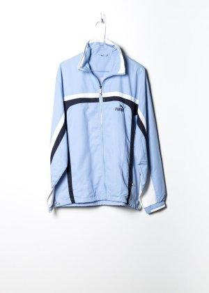 Puma Unisex Trainingsjacke in Blau