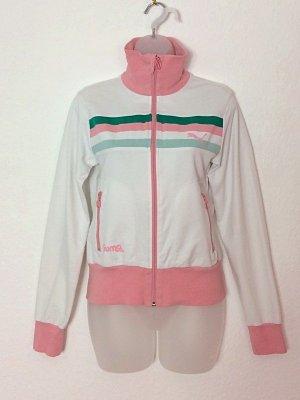 Puma Vintage Pastell Sportjacke Trainingsjacke Gr. S