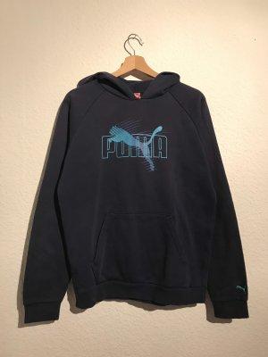 Puma Hooded Sweater dark blue
