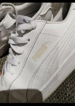 Puma Zapatillas con tacón blanco