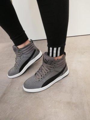 Puma Winter Sneaker gefüttert grau neu 38