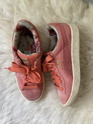 Puma x Careaux Sneakers Pink 38 Basket Turnschuhe Suede Schuhe Rosa Rosé