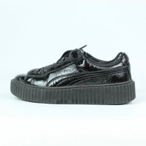 PUMA x Fenty Sneaker Gr. 38 schwarz Lackleder Mod. Basket (20/03/007*)
