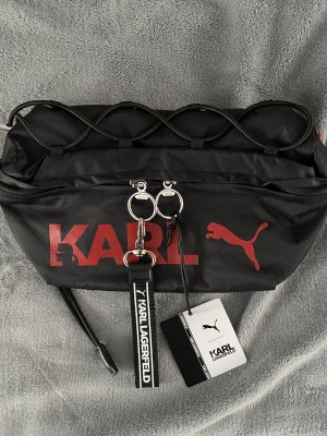 Karl Lagerfeld Bumbag black-red