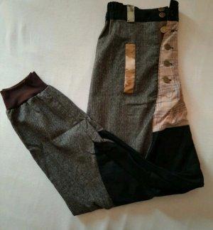 Openmind Pantalon large noir-gris foncé