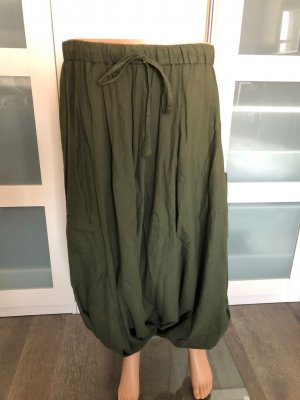 Pantalon large kaki