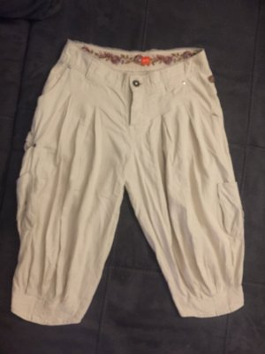 Boss Orange Pantalon large crème