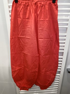 Pantalone alla turca rosso mattone