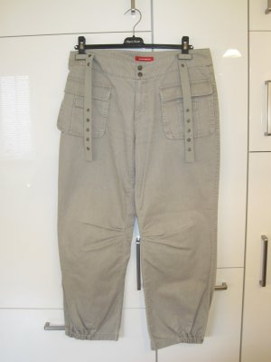 XX BY MEXX Pantalon large gris coton