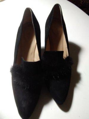 Lloyd Chaussure à talons carrés noir