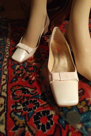 Nina Fiarucci Loafer bianco sporco Pelle