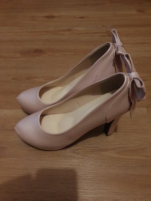 Jingpin High-Front Pumps rose-gold-coloured