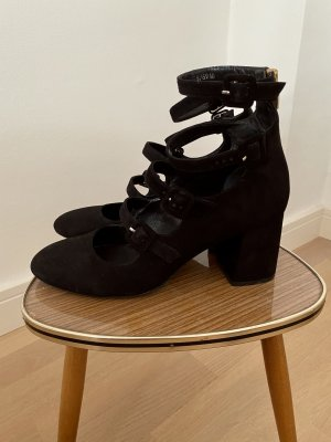 Bruno Premi Strapped pumps black