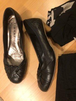 Kimkay Chaussure à talons carrés noir