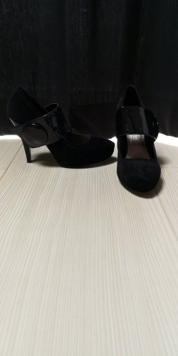Backless Pumps black