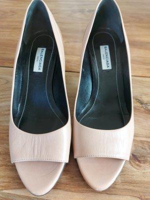 Balenciaga Zapatos de punta beige