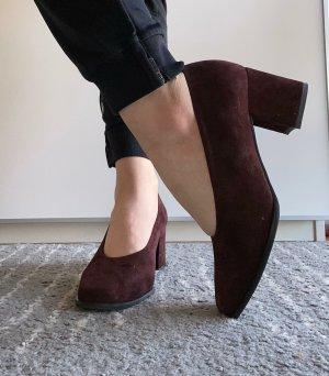 afis Classic Court Shoe bordeaux