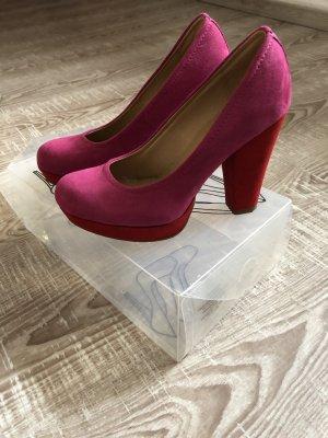 Catwalk High Heels pink-red