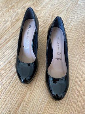 Tamaris Classic Court Shoe black