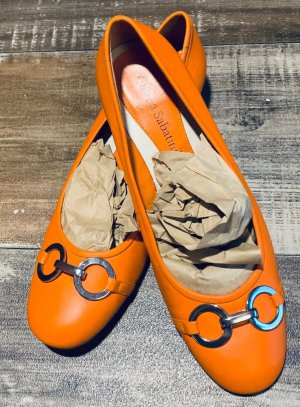 Andrea Sabatini High Heels silver-colored-neon orange