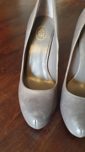 ASH High Heels silver-colored