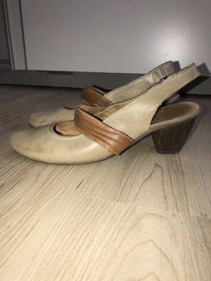 Remonte Tacones de plataforma beige-marrón claro Cuero