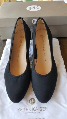 Peter Kaiser Chaussure à talons carrés noir