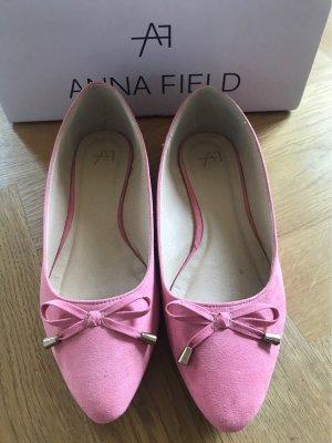 Anna Field Bailarinas con punta rosa