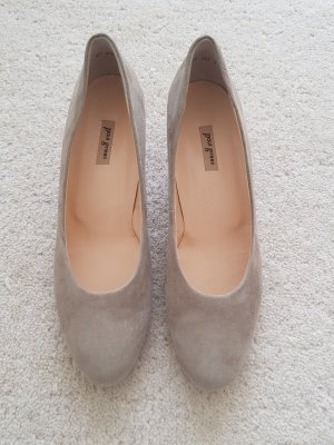 Paul Green Plateauzool pumps licht beige