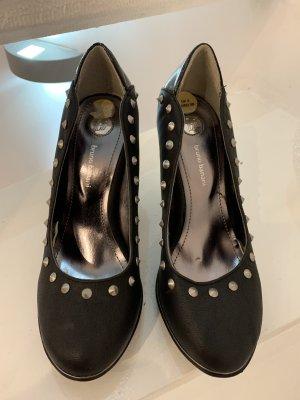 Bruno Banani High Heels black leather