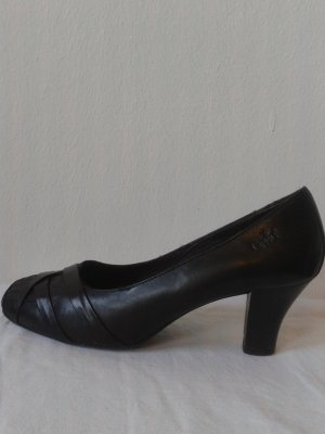 Caprice T-Strap Pumps black