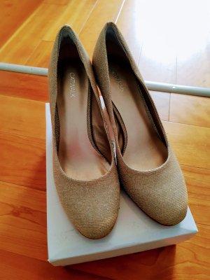 Catwalk High Heels gold-colored