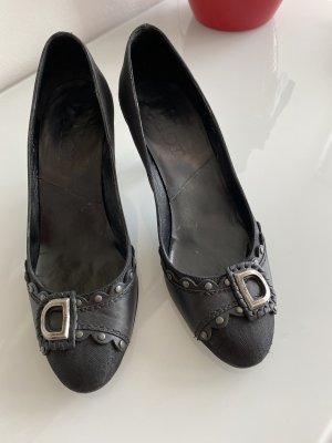 Christian Dior Loafers zwart
