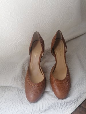 Cole Haan Pointed Toe Pumps brown