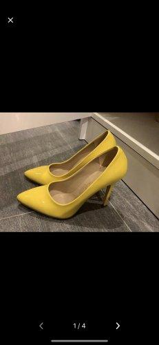 Pumps Damen Gelb