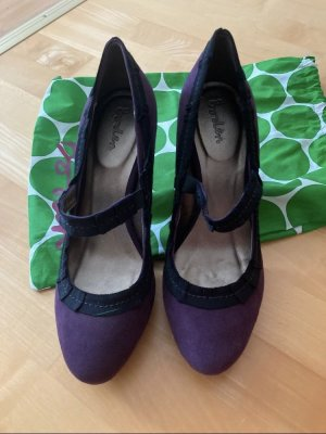 Boden Mary Jane Pumps blackberry-red