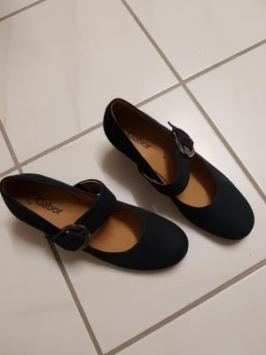 Gabor Backless Pumps dark blue
