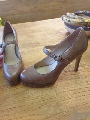 5th Avenue Escarpins Mary Jane bronze-gris brun