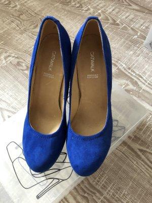 Catwalk High Heels blue-turquoise